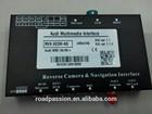 A1 Lower Resolution INCar Multimedia OEM Screen Update GPS & BT & Parking System