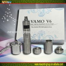 vamo v5 update large OLED display variable wattage mod vamo v6 stainless steel