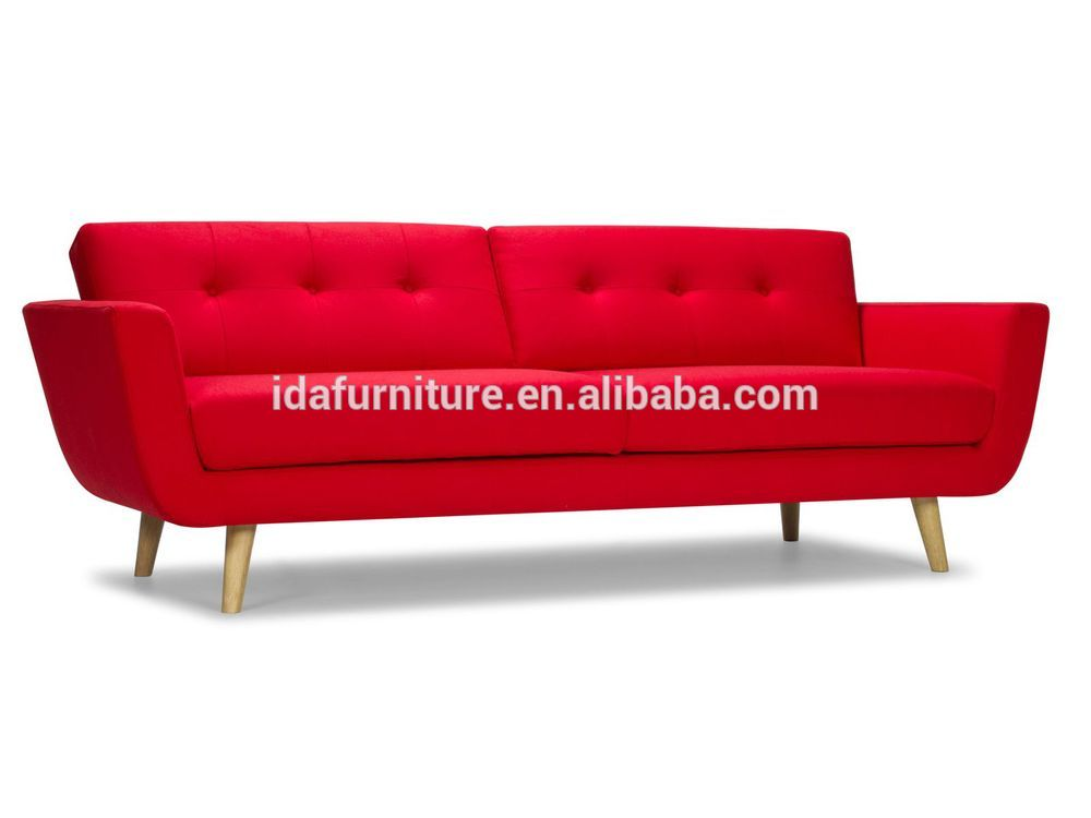 Retro wooden sofa modern style comfortable sofa buy for Modern style sofa