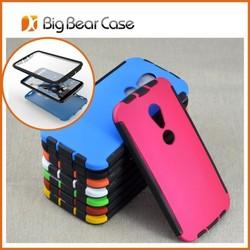 Full protective cell phone cover for Motorola Moto G2 XT1063 XT1068 XT1069