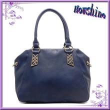 2015 Alibaba China new model lady handbag shoulder bag, genuine leather handbag italy