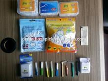 various type of dental floss holder