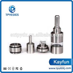 2014 the best sales genuine pyrex glass kayfun atomizer kayfun 3.1