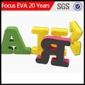 Decorativo magnética letras del alfabeto / grande de las letras del alfabeto