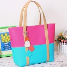 D24532Q 2014 the new Korean fashion women splicing handbags