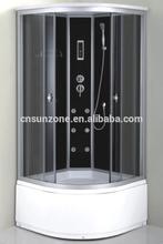 SUNZOOM hot selling fiberglass outdoor steam shower room fashion design