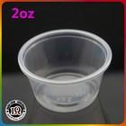 PP 2oz shot disposable plastic souffle cups