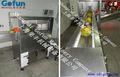 Industrial meio coco- corte e coleta de água de coco máquina fabricado em xangai gofun