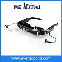 Best 84inch Virtual LCD Glasses FLCOS Screen Cordless Video Glasses 720p Video Eyewear