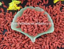 FDA Certificate 5kg Packing 250granule Ningxia Organic Goji Berry For US