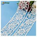 colore bianco pizzo tessuto per tessuto design personalizzato avorio elastico pizzo