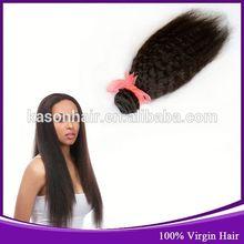 2014 New Fashion Hair Products Indian 100% Virgin Long Hair China Sex Perm Yaki Indian Human Hair Weave