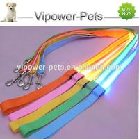 Fashionable Nylon Dog Leash LED Dog Collar Leash Wholesale Dog Leads Pet Traction Rope Free Shipping
