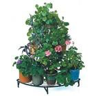 Outdoor 3 Tier Antique Metal Flower Pot Wire Plant Stand