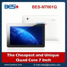 7 inch high end market mtk quad core android 4.1 mid