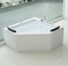 Combo portable Whirlpool/acrylic drop-in hot massage bathtub