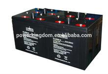 2v 3000ah High power supply lead acid solar battery for power station