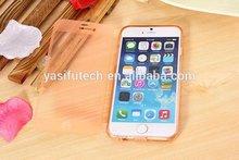 Newest Transparent Flip TPU Phone Case for iPhone 6