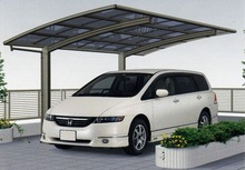 Metal Rain Shade ,Aluminum Car Park Shade,Polycarbonate Car Parking Awning for Motorcycle
