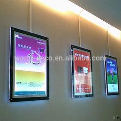 led crystal light box / led crystal light frame / frameless led light box
