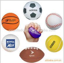 foam stress ball/anti stress balls/basketball stress balls