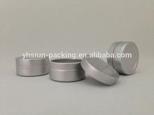 AL-10-1 aluminum lip balm metal tin containers