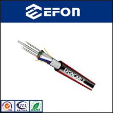 Aluminum tape armored cable fibra optica monomodo / GYTA cable fibra optica