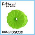 2014 la venta de la mejor forma de la flor de silicona torta del molde