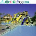 De fibra de vidrio de agua parque de diapositivas