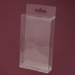small custom printed pvc box packaging box plastic transparent