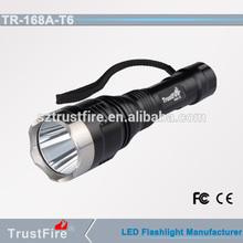 TrustFire 168A-T6 1000lm flashlight torch high quality hot sale china night flashlight led flashlight circuit board