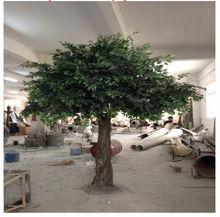 Paysage arbres feuillage ornemental plantes artificielles en direct ficus arbre réaliste artificielle arbre