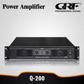 profesional de clase ab estéreo potencia de amplificador de 200w