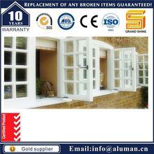 Good quality stylish white aluminium awning windows fabrication