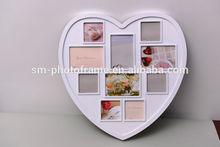 Modern Irregular Shaped Plastic Family / Wedding Photo Frame