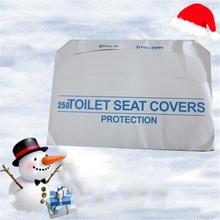 250 Piece Disposable White 1/2 Fold Toilet Seat cover TP-2-J