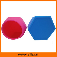 Much functional silicone container hexagonal