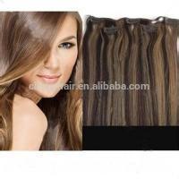 Alibaba Express Remy Human Hair Extension/ Vergine Haarverlangerung Hair Replacement