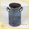 decorative mini galvanized milk can