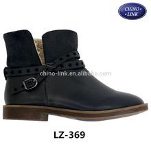 Popular design fancy cheap girls winter boots 2015