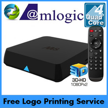 M8 Amlogic S802 Quad core Android 4.4 TV Box 2+8G Bluetooth 4.0 3D 4k free web tv