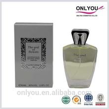2014 Perfume Spray Flower Smell Perfume Names Of Ladies Perfume