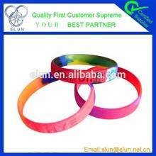 2015 wholesale fine custom silicone wristband