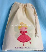 Organic Cotton Bag/Small Drawstring Bags/Cotton Drawstring Bags