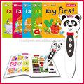 <XZY>plástico electrónica alfabeto aprendizagem brinquedo pena de áudio falando