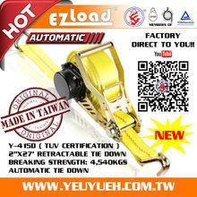 [EZ LOAD] EN-12195-2 7th generation tie down system for cargo straps uk