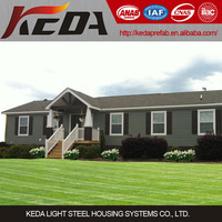 China cheap light steel pre built low cost modular home prefabricated