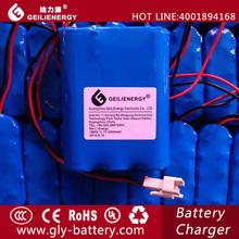 Geilienergy popular customized 11.1V 2000mah Li-ion 18650 battery pack