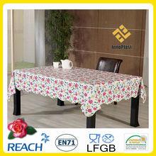 PVC easter plastic table cloth