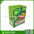 eco bolsa reciclable pp bolsa de azúcar para la publicidad al aire libre
